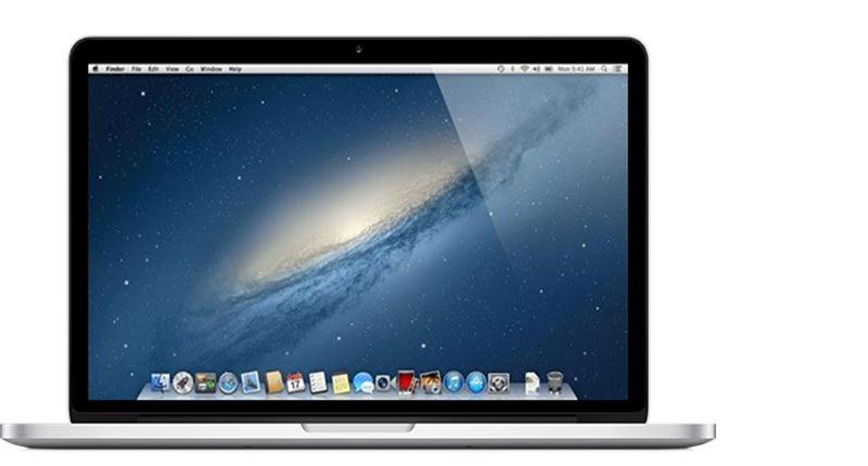 MacBook Pro (Retina, 13 pulgadas, finales de 2012)