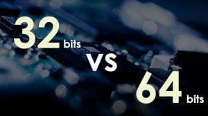 diferencias entre los sistemas de 32 Bits y 64 Bits