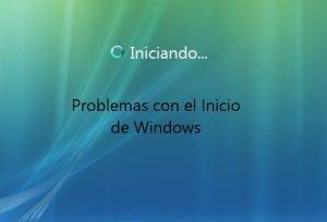 Problemas para iniciar Windows