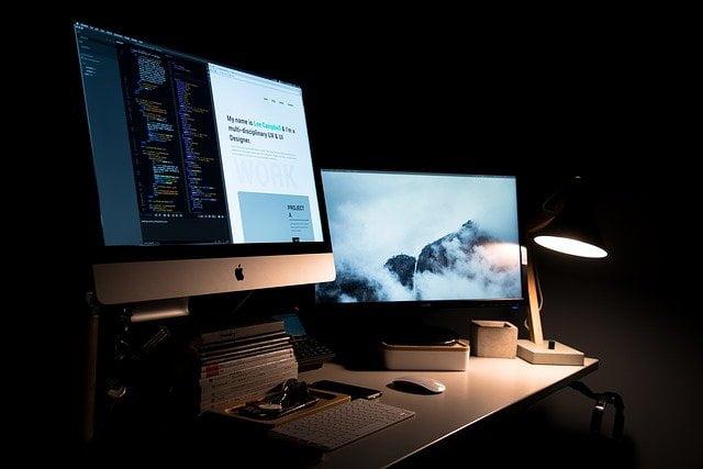 monitores configurados
