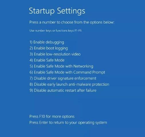 arreglar el bucle de reparación automática de Windows 10