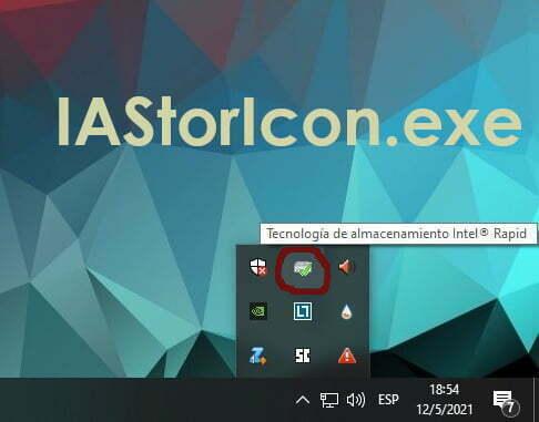 ¿Qué es IAStorIcon.exe?