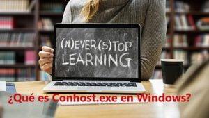 ¿Qué es Conhost.exe en Windows?