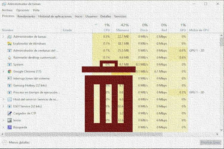 Cómo Eliminar y Terminar los Procesos en Windows 10